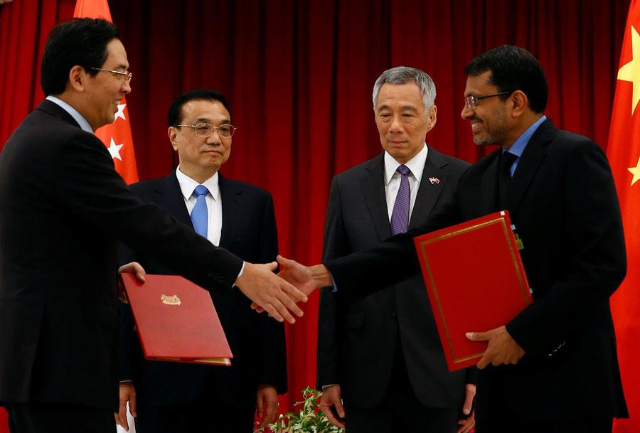 China Singapore Agree To Upgrade Free Trade Pact World