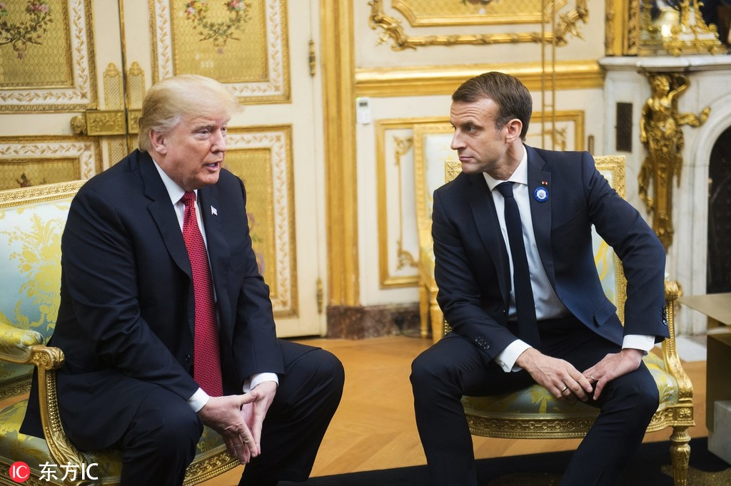 As relationship sours, Macron tells Trump France is not vassal of US - World