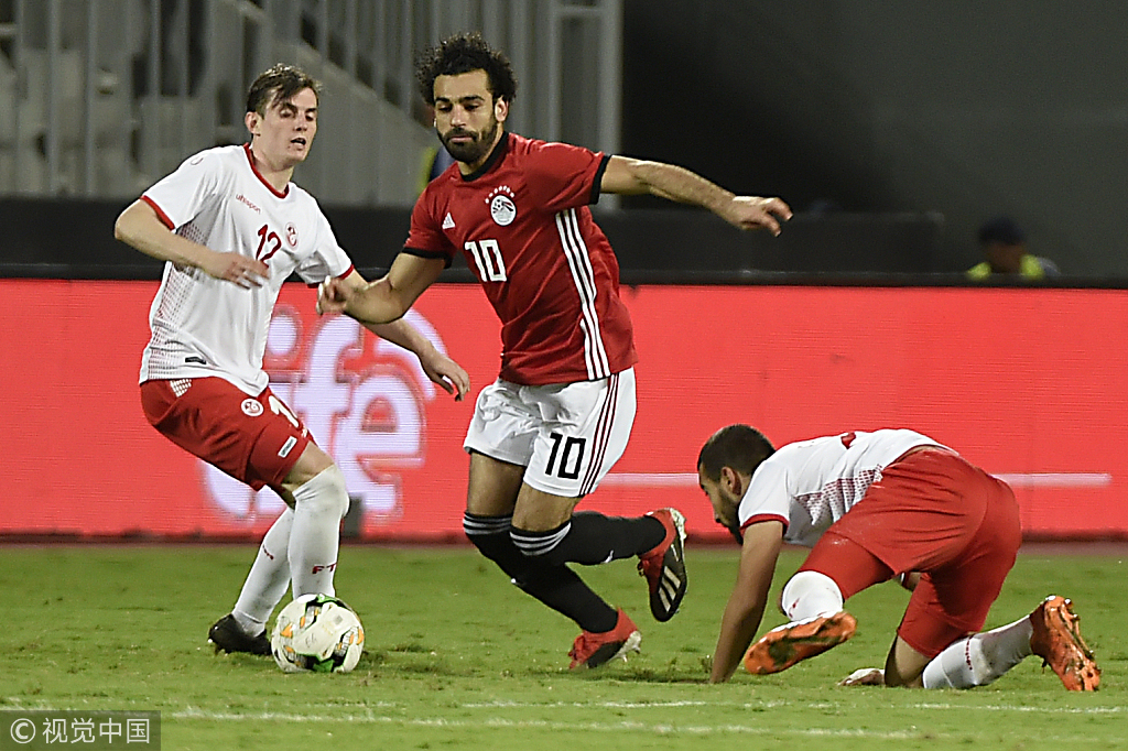 Egypt soccer team cheers fans after win in African Cup ...