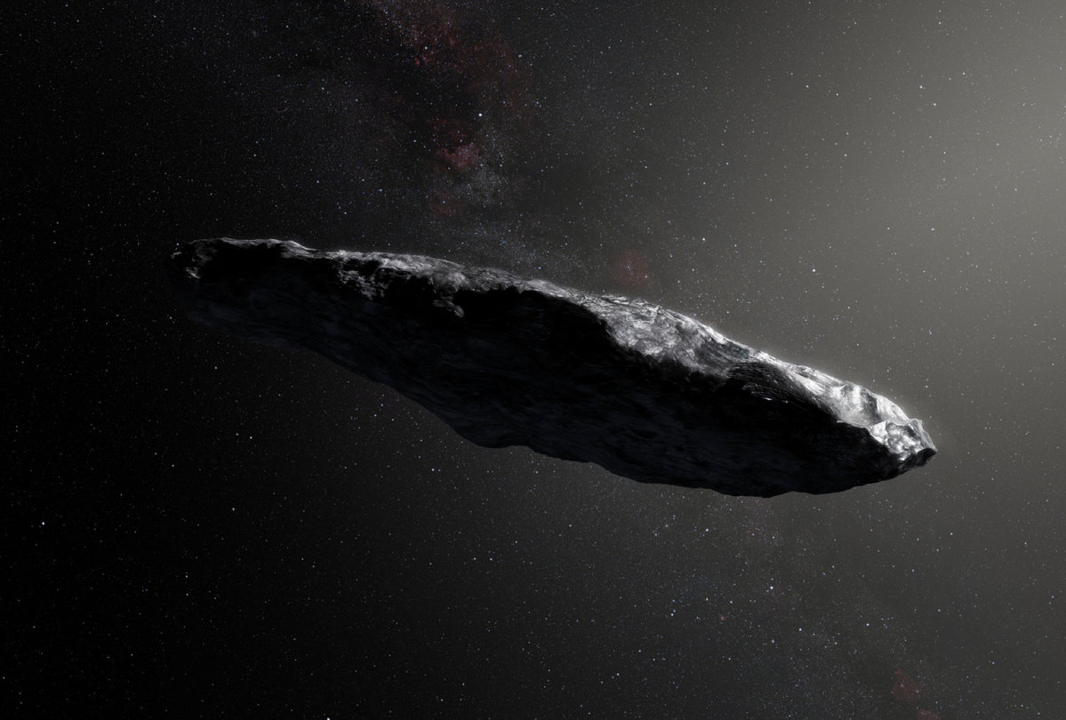 NASA reveals more details on first interstellar object - World