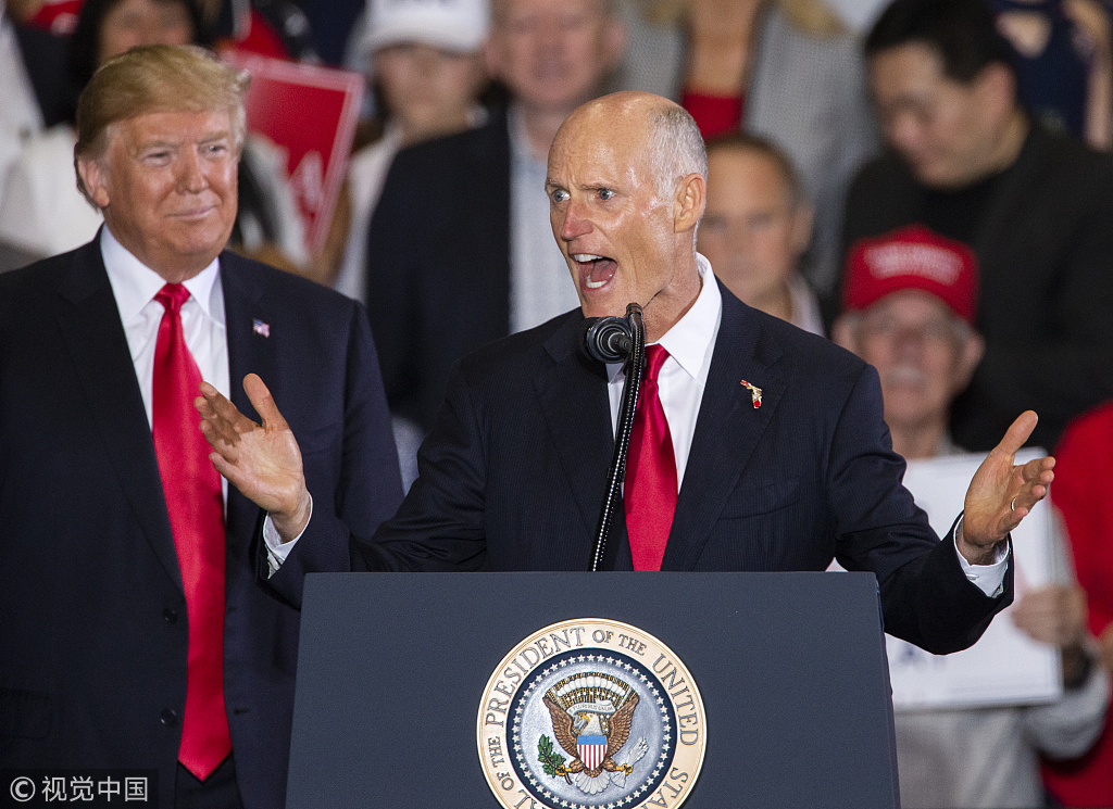 Democrat concedes Florida governor's race to ally of Donald Trump
