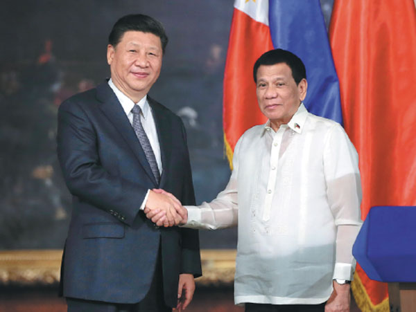 China's Xi visits Manila to deepen ties with America's ally