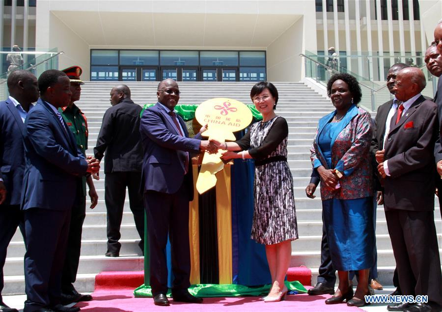 China-aided university library complex handed over to Tanzania - World - Chinadaily.com.cn