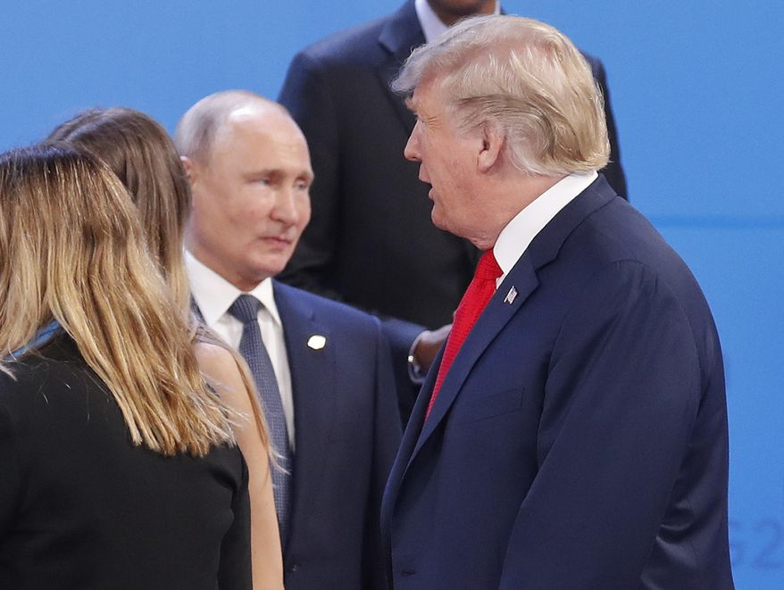 Trump Had 'Informal' Conversation With Putin At G-20 Summit