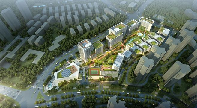 Construction begins on a 1.4 billion yuan smart industry park -  Chinadaily.com.cn