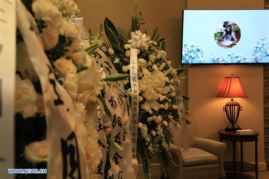 Football lovers bid farewell to Chinese star Zhang Ouying