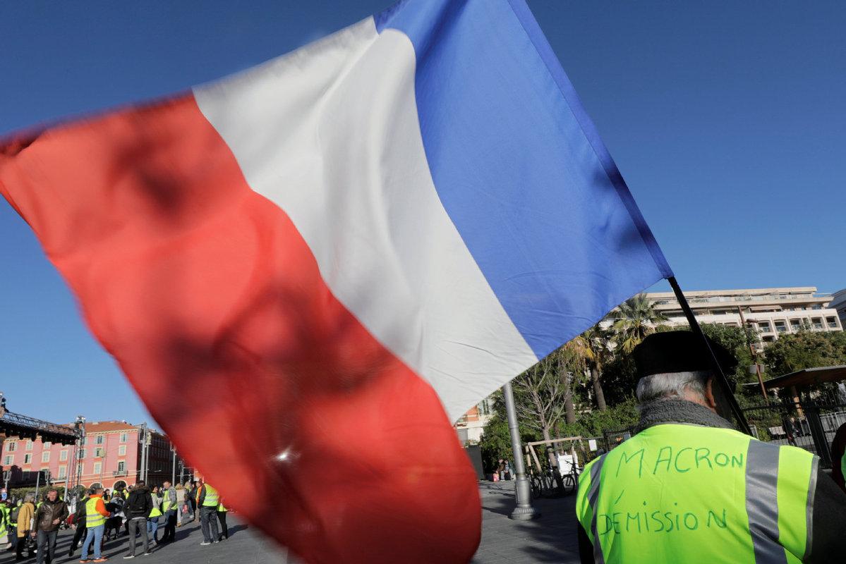 Macron to break silence, address French nation amid protests - World