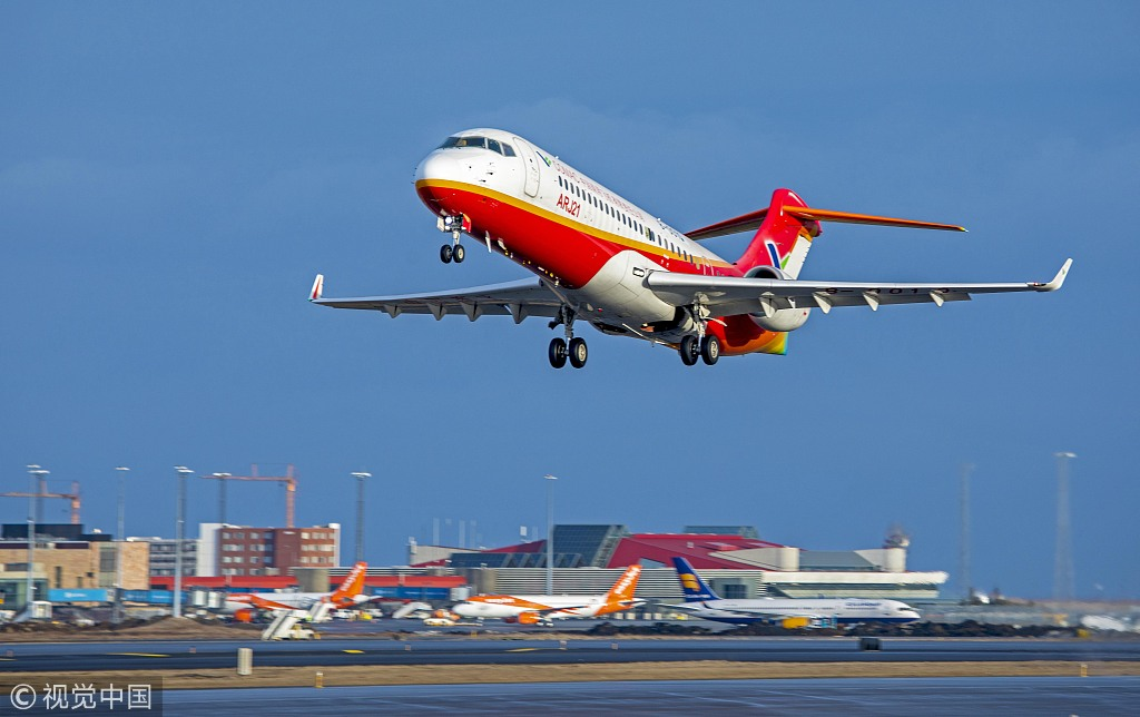 China's civil aviation industry aims high - EUROPE ...