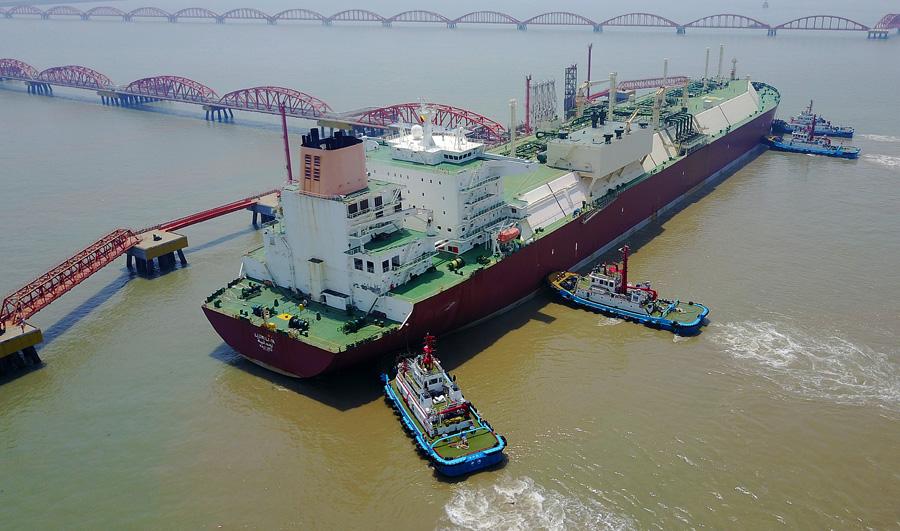 China forays into LNG shipping segment - Chinadaily com cn
