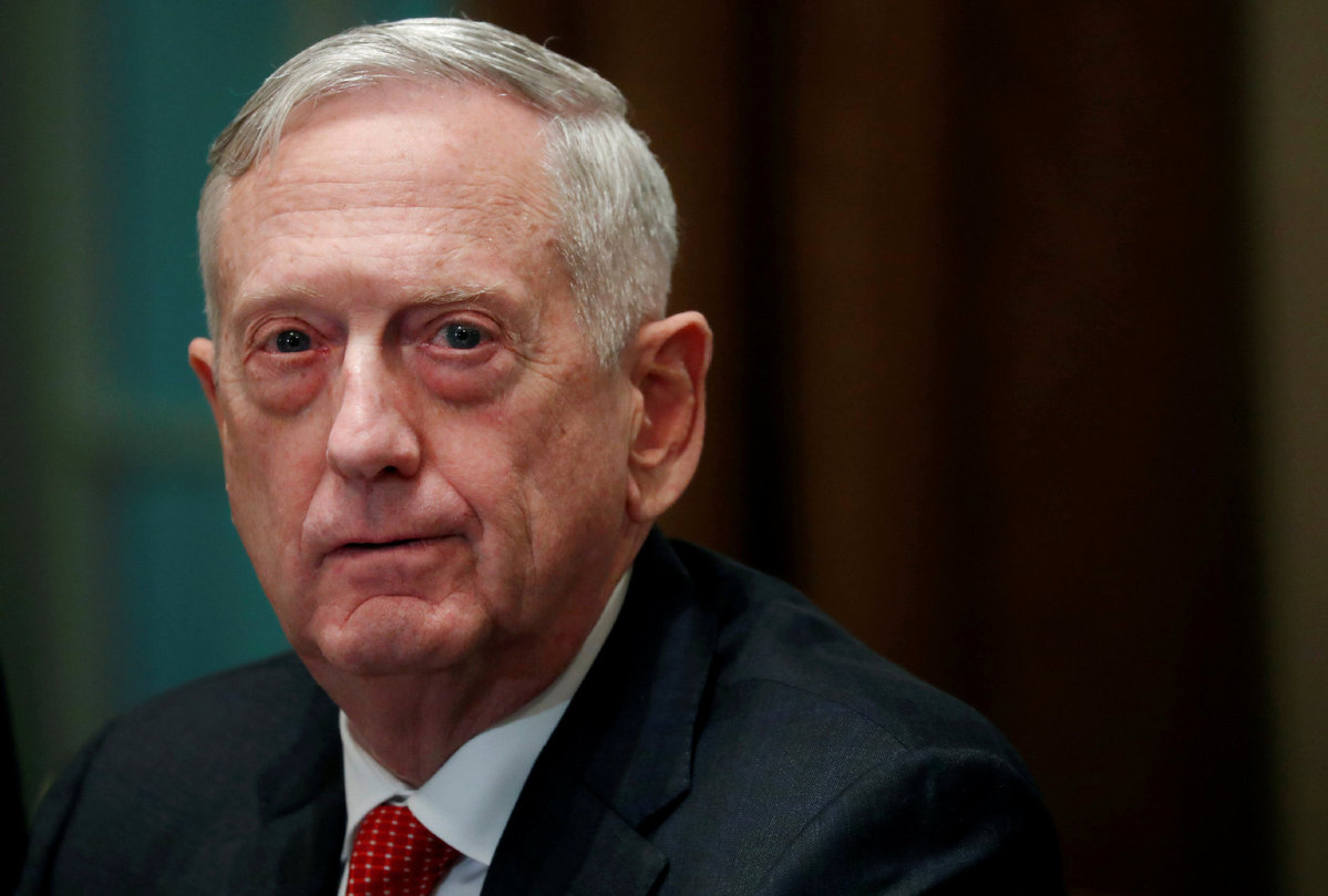 James Mattis signs order withdrawing USA  troops from Syria