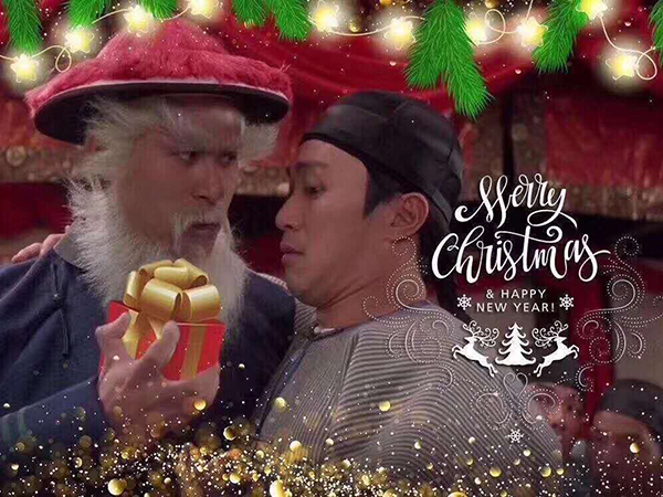 Chinese Christmas.Chinese Santa Claus Storms The Internet Chinadaily Com Cn
