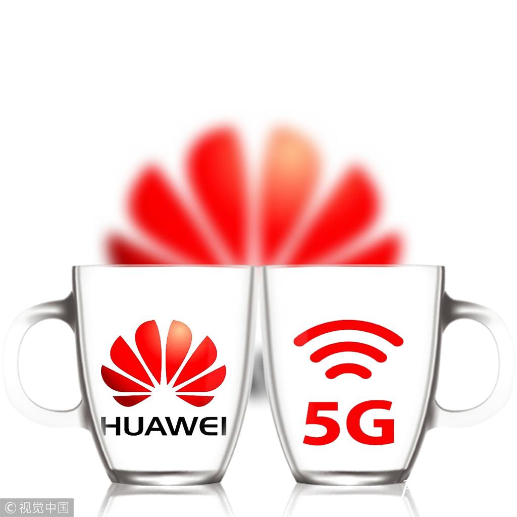 Huawei's rotating chairman Ken Hu speaks to global media