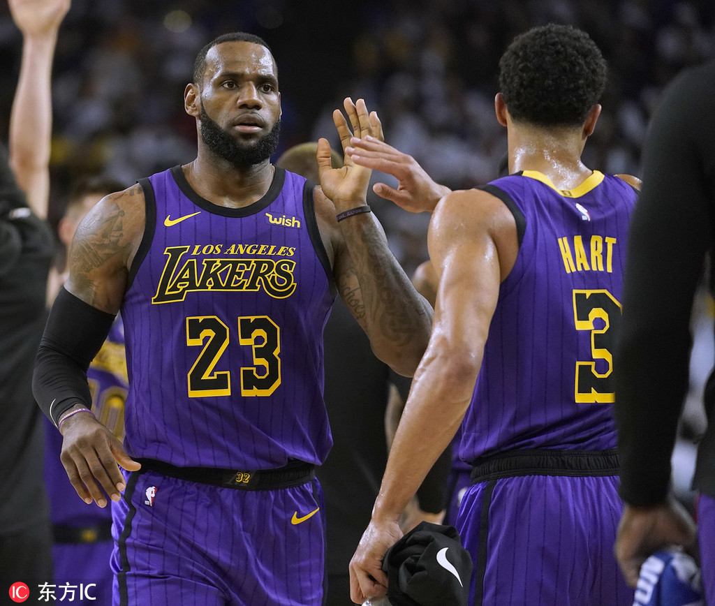 cheap for discount 61e0f 5ce23 Lakers sweat on LeBron injury - Chinadaily.com.cn