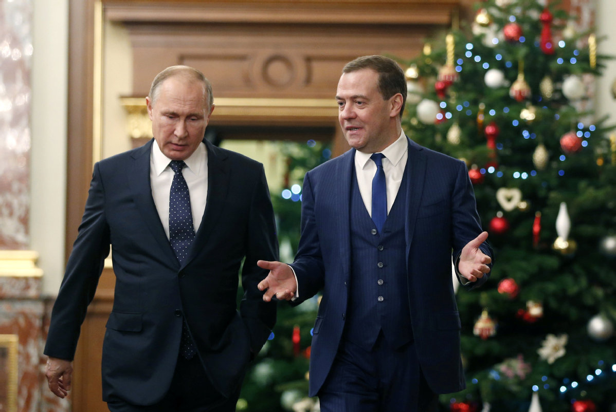 Russian Premier Medvedev Expands Sanctions on Ukraine