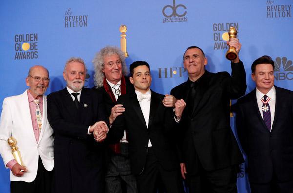 Bohemian Rhapsody' takes upset win at Netflix-dominated
