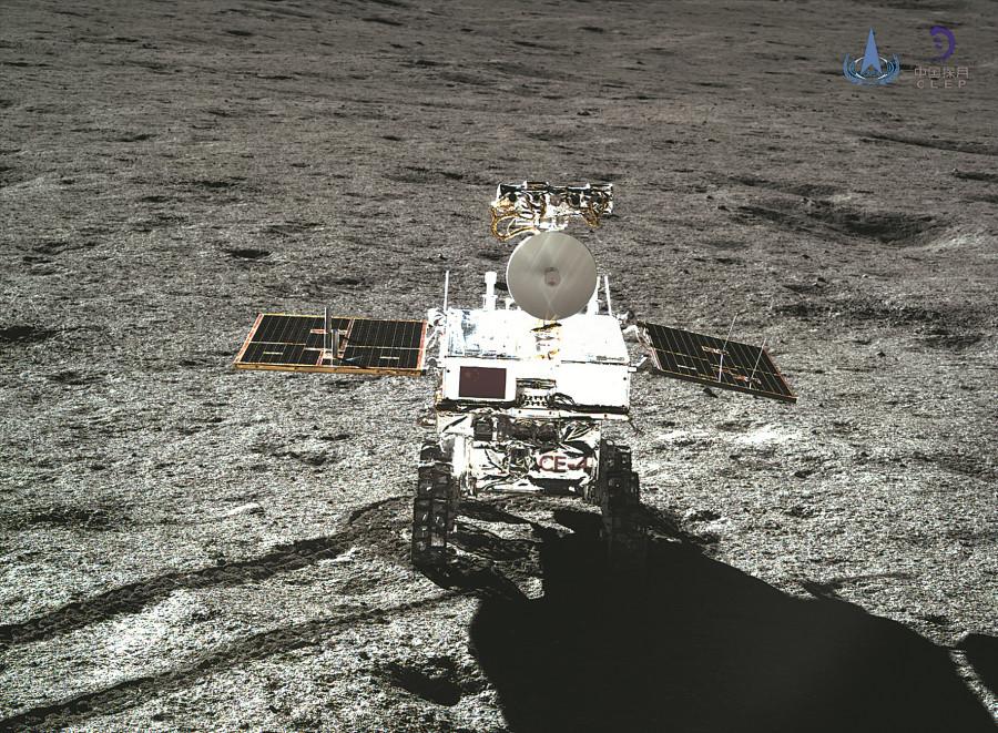 China's Yutu-2 rover on the Moon