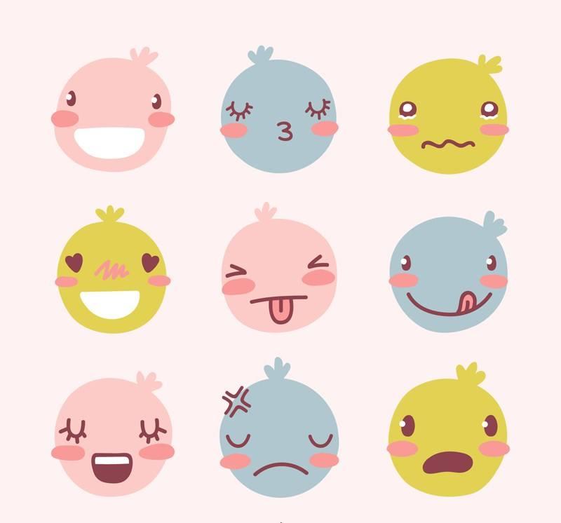 我们的表情藏在情绪里,情绪的表情都藏在文怎样把微信的老外图弄出来图片