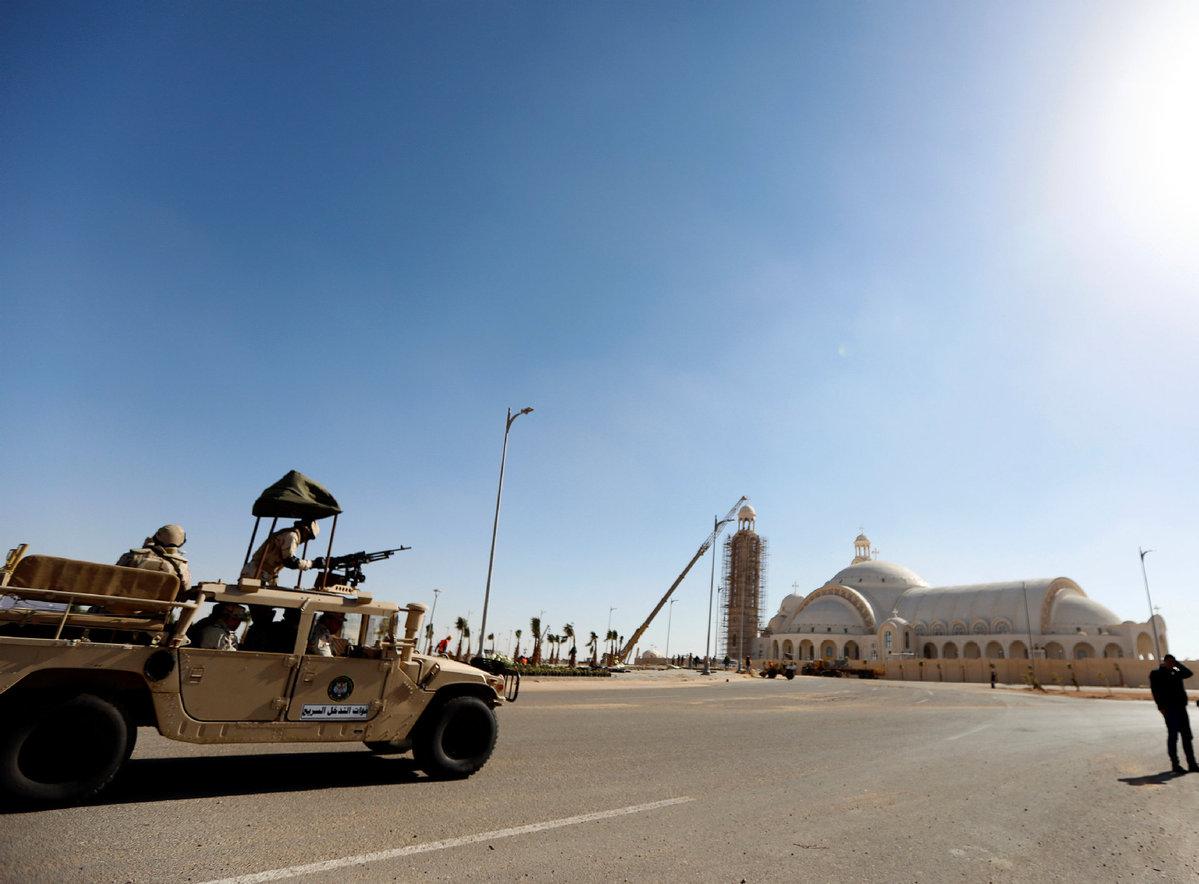 2 terrorist leaders killed in Egypt's Sinai: Egyptian army - World