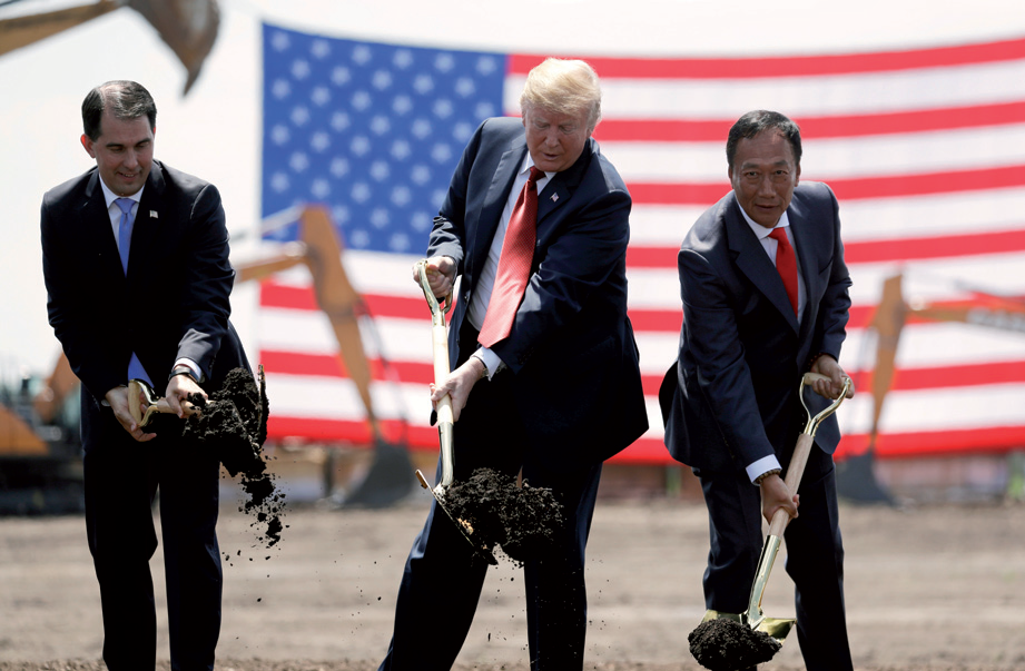 Foxconn changes course again, says plan for LCD factory back on