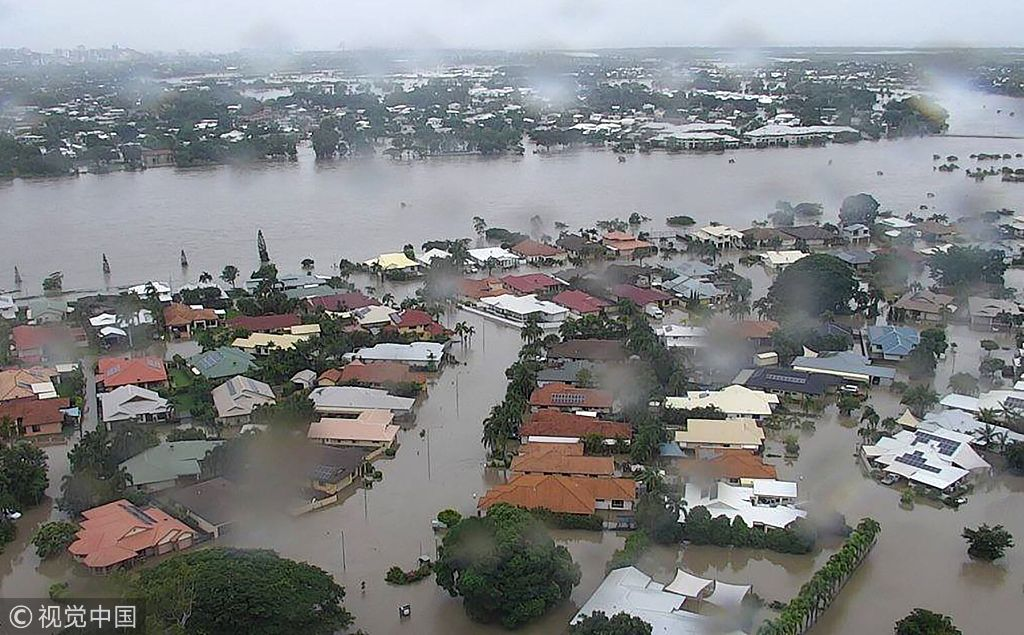 'Once in a century' floods hit northeast Australia
