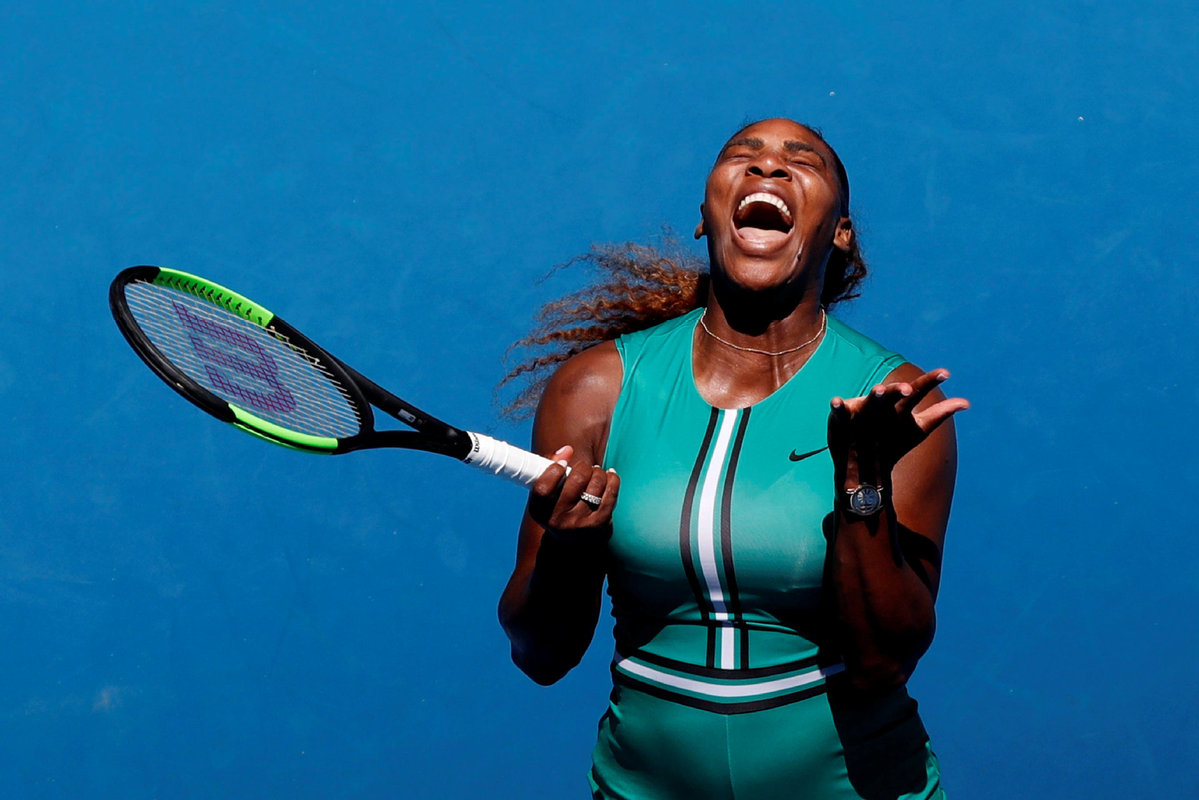Serena Williams back in top 10 after giving birth