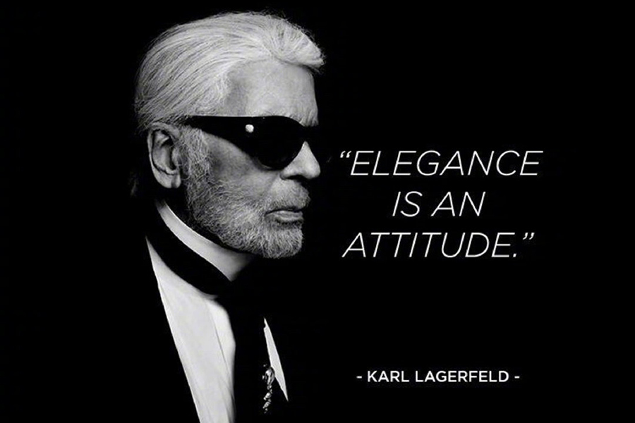 Tributes Paid To Designer Karl Lagerfeld By Chinese Fans