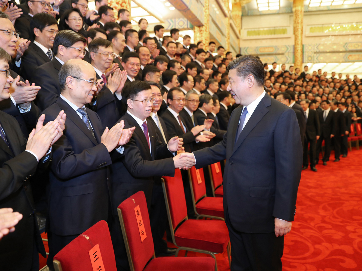 Xi urges boost in high-tech development