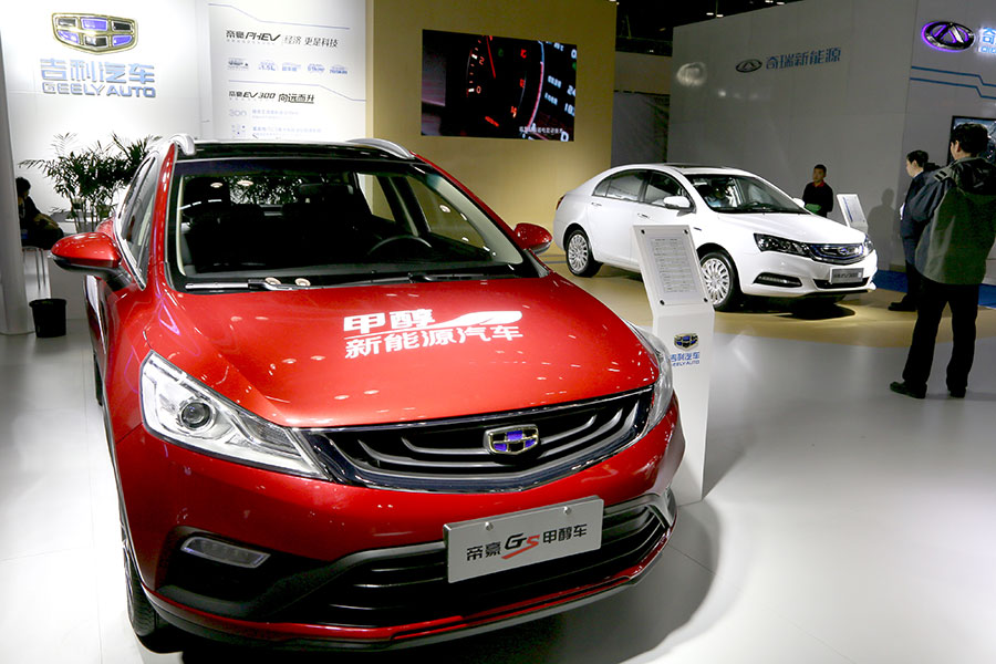 Methanol automobiles set to hit the road - Chinadaily com cn
