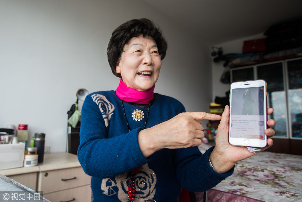 Silver hair economy is booming online - Chinadaily com cn