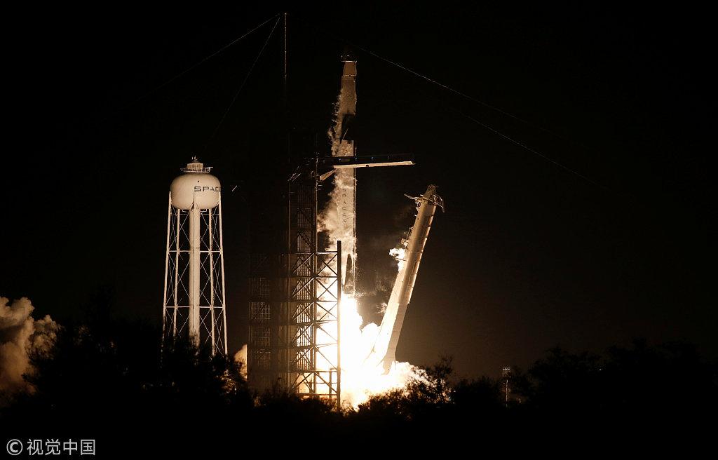 SpaceX Crew Dragon spacecraft marks debut unmanned flight