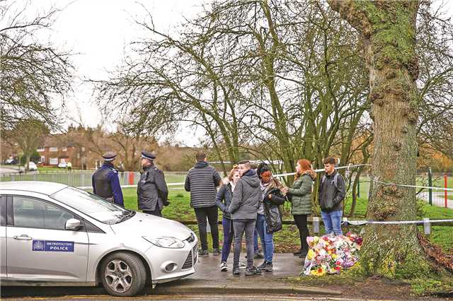 Girl killed in London park stabbed by silent attacker