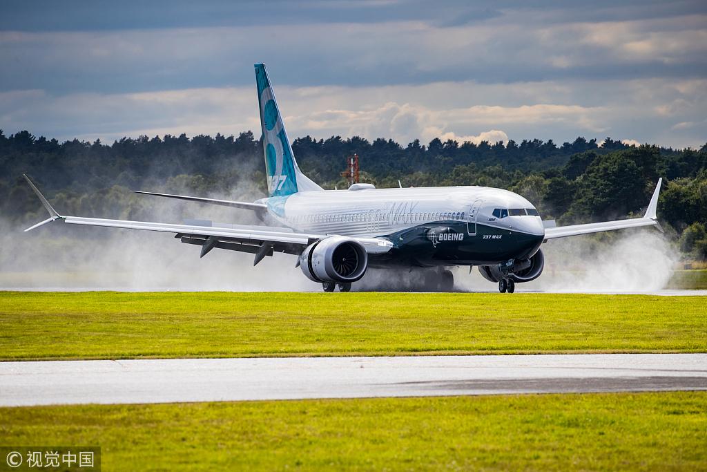 Hong Kong temporarily prohibits operation of Boeing 737 MAX aircraft