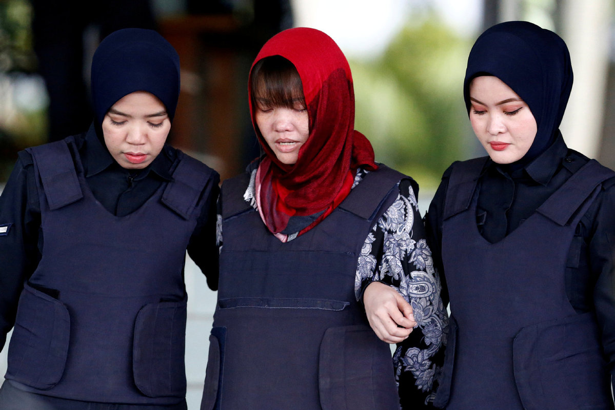 Vietnamese woman in assassination trial denied freedom