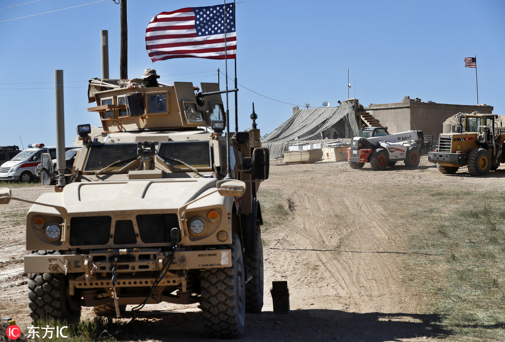 US military considers keeping 1,000 soldiers in Syria: report - World