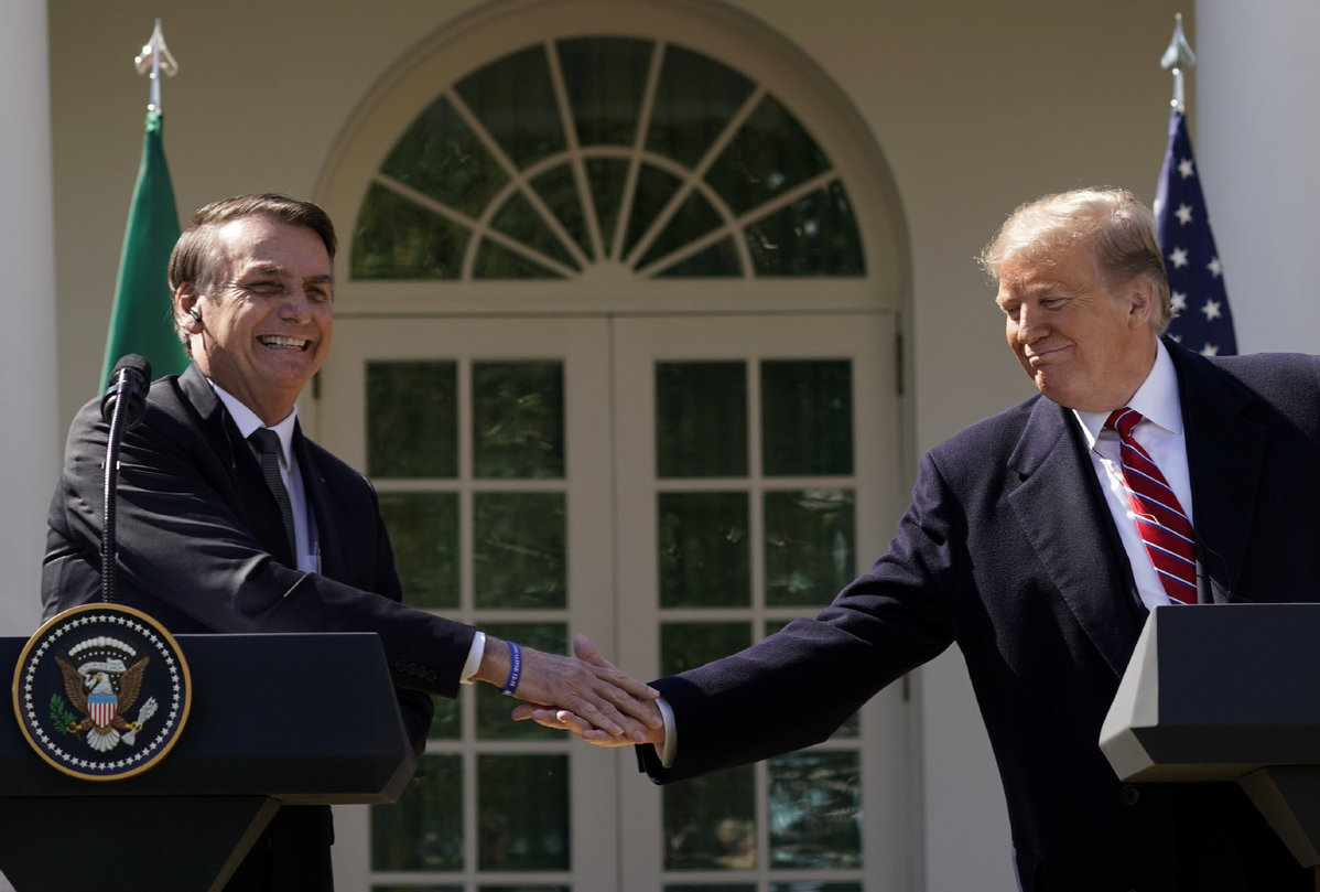 Trump indicates support for Brazil joining in NATO, OECD - World