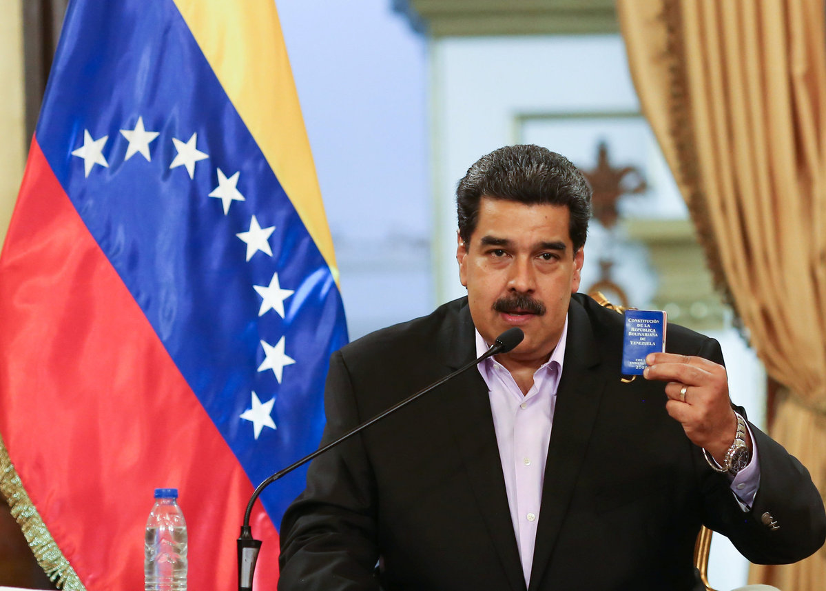 Maduro announces arrest of Colombian paramilitary leader - Chinadaily.com.cn
