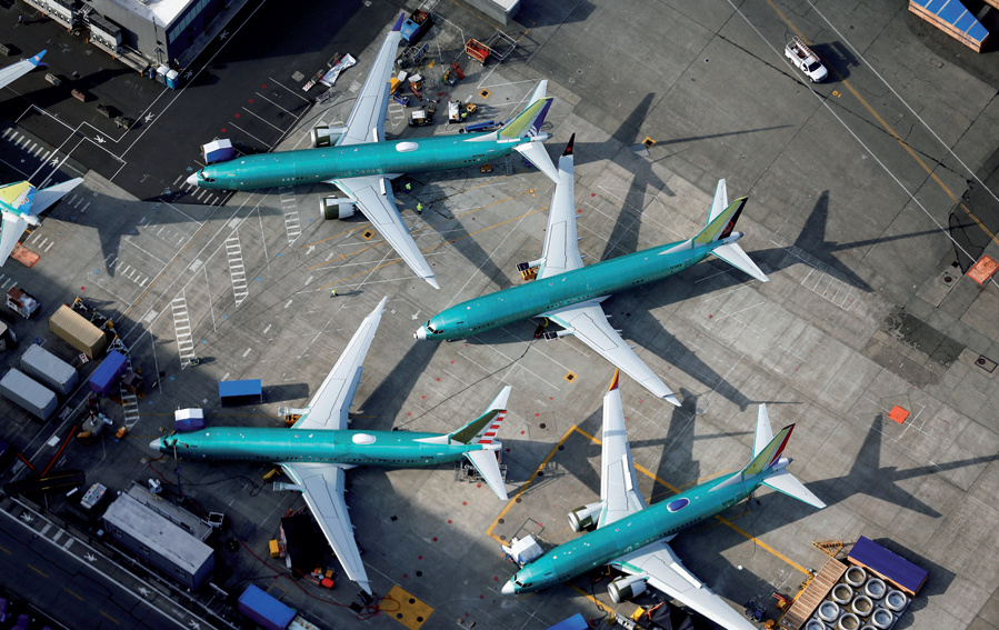 Faa Allowed Airlines To Pick Max Jet Options World Chinadailycomcn