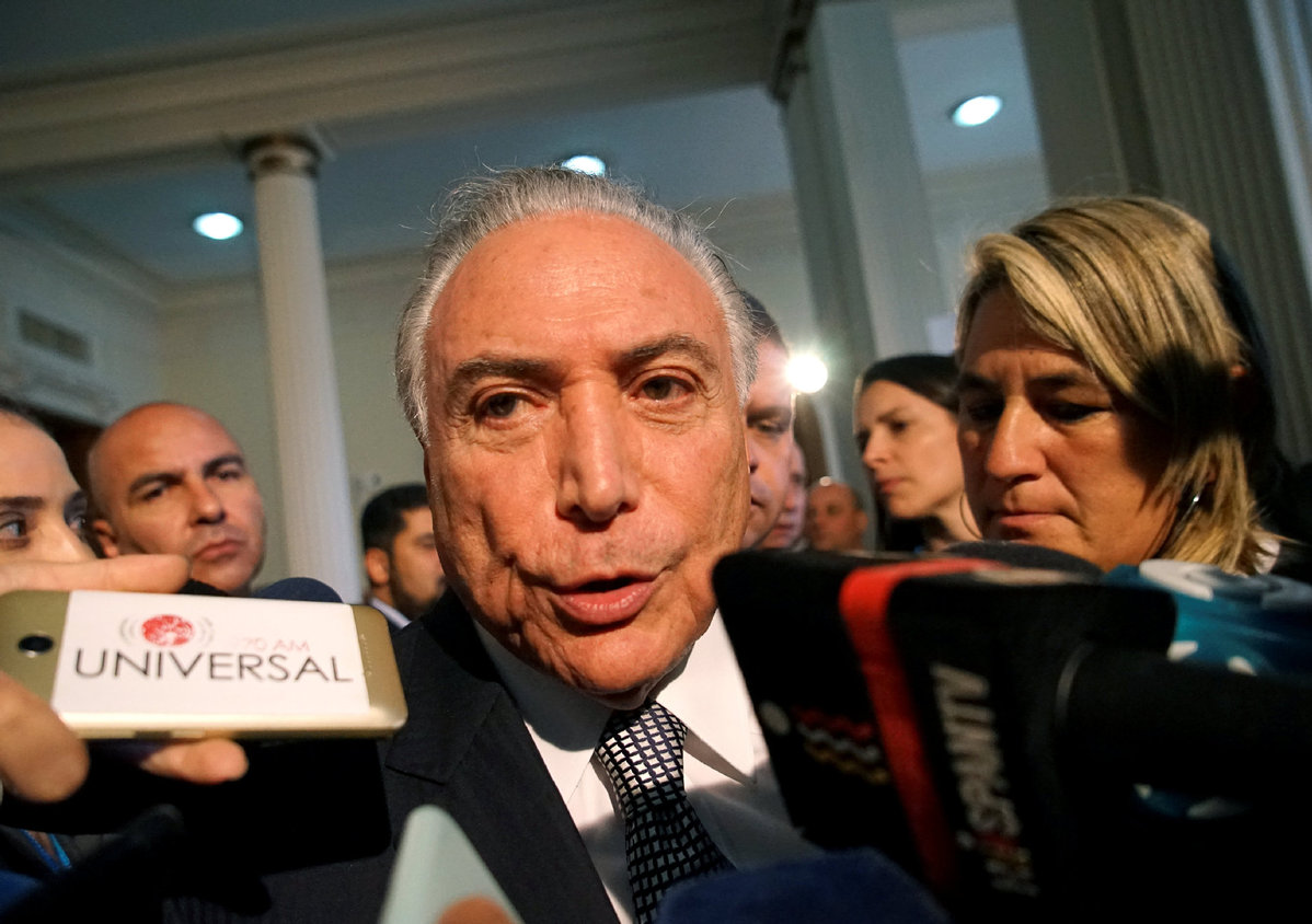 Brazil's ex-president Temer released from jail - World