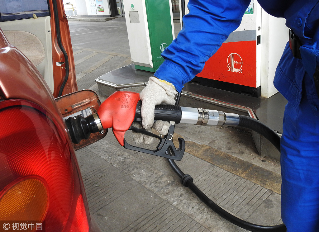 China to lower retail prices of gasoline, diesel on tax cuts