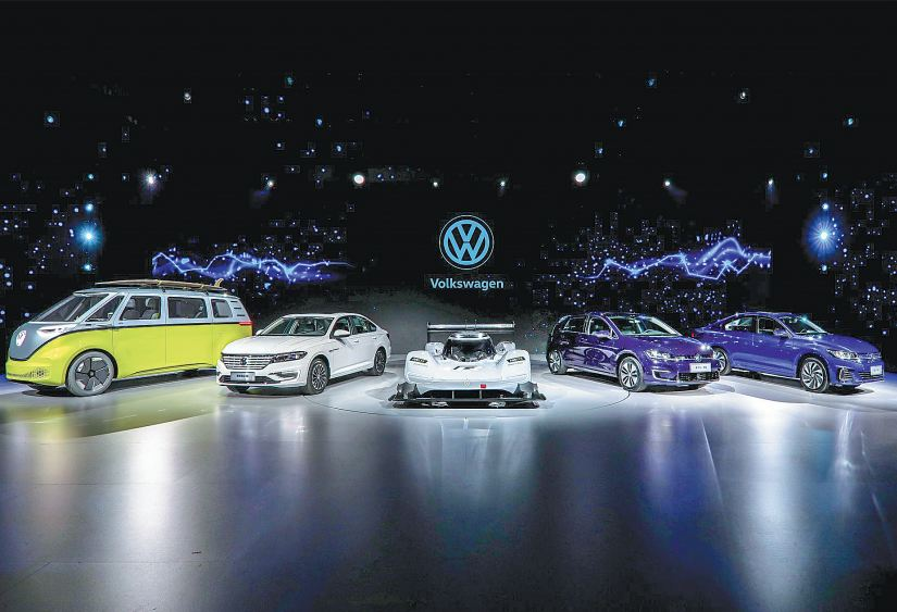 Volkswagen China S Penger Cars Brand Launches The Electric Variants Of Its Well Known Models In Zhuhai Guangdong Province Photo Provided To