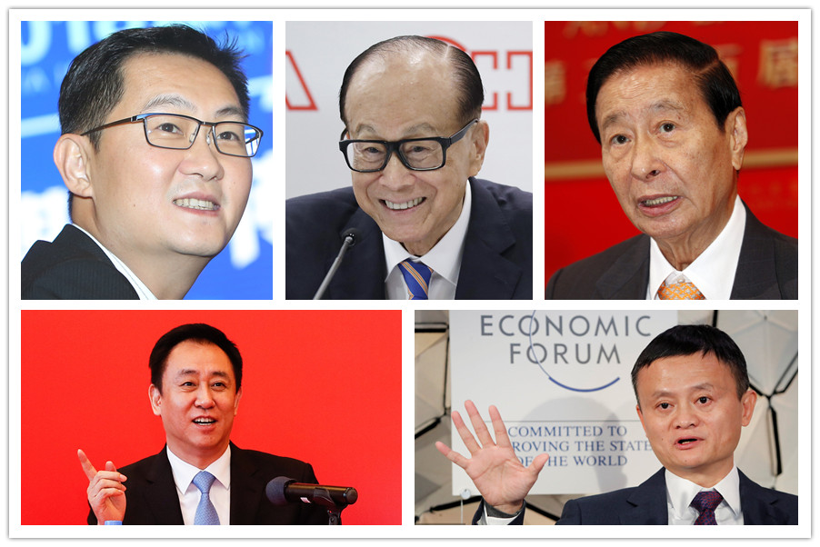 Top 10 richest Chinese in 2019 - Chinadaily com cn
