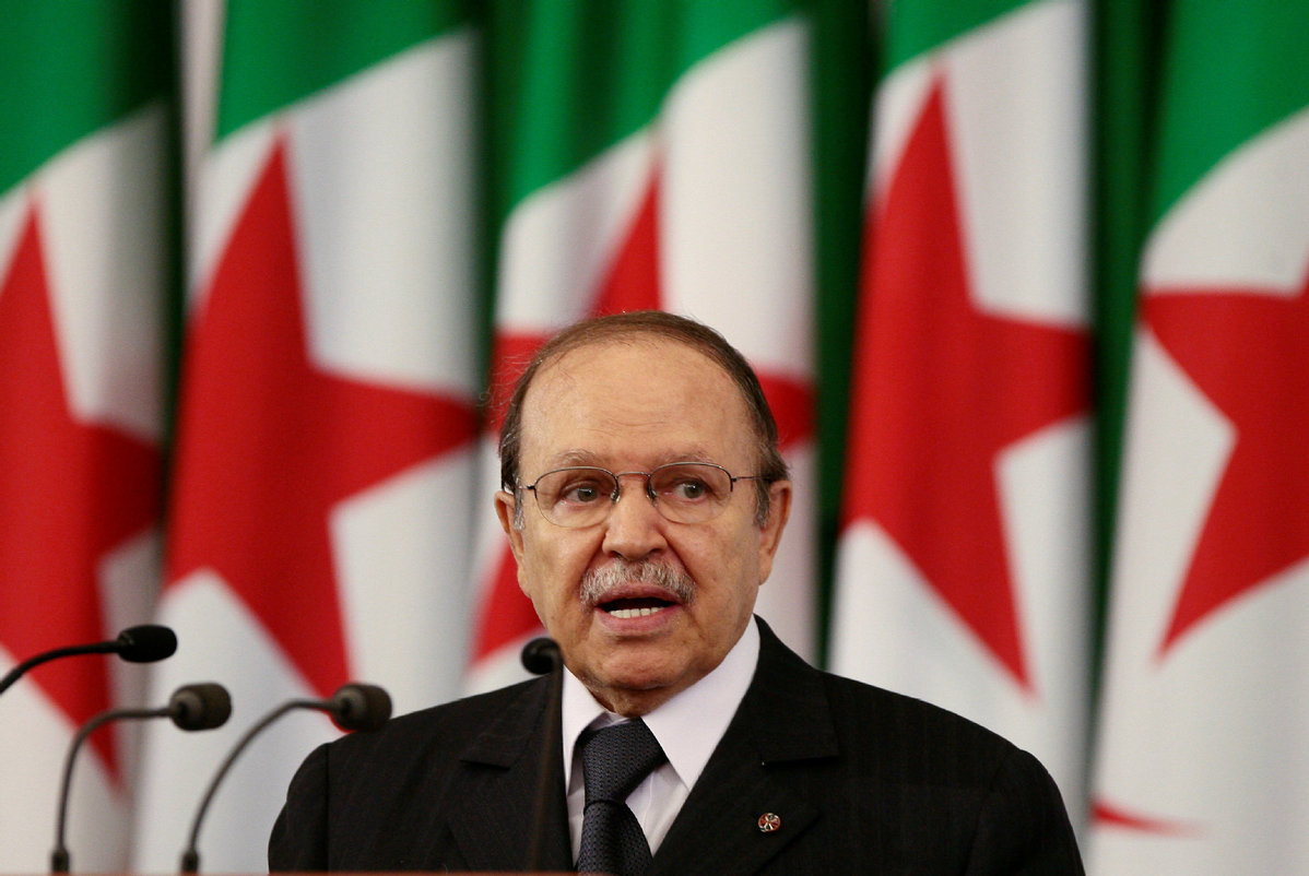 Bouteflika to step down within the week, say independent Algerian TV channels