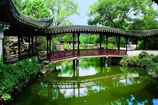 The art of Chinese garden and traditional Chinese culture