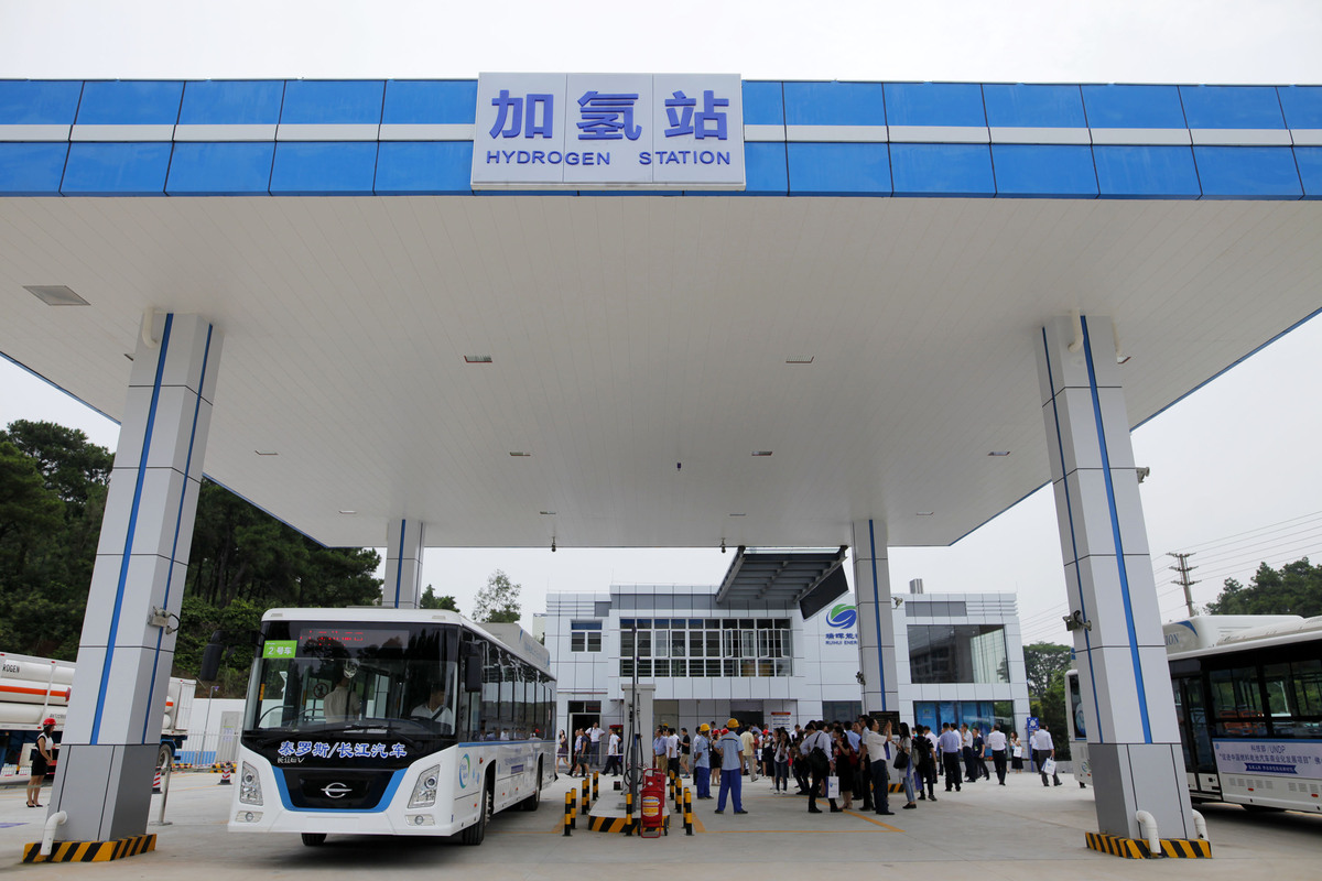 Hydrogen vehicles on their way - Chinadaily com cn