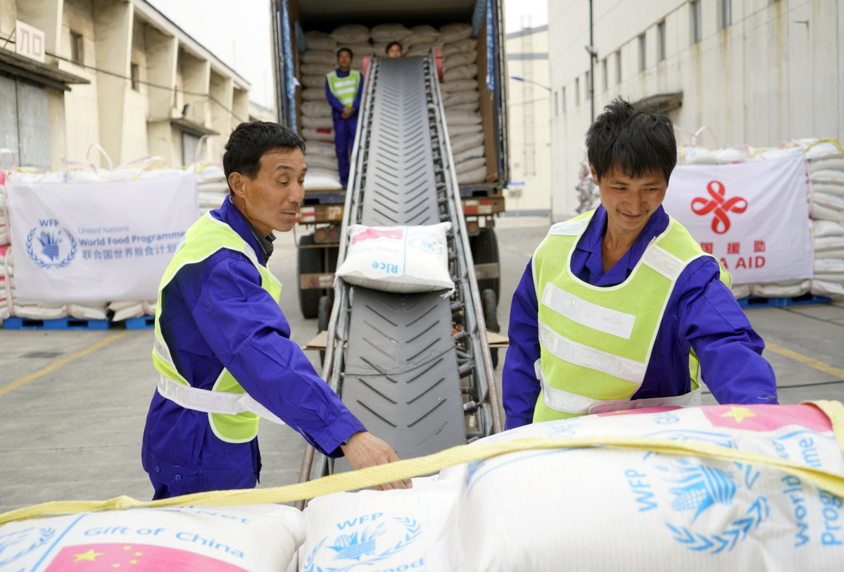 China ships rice to Africa, to ease famine - World