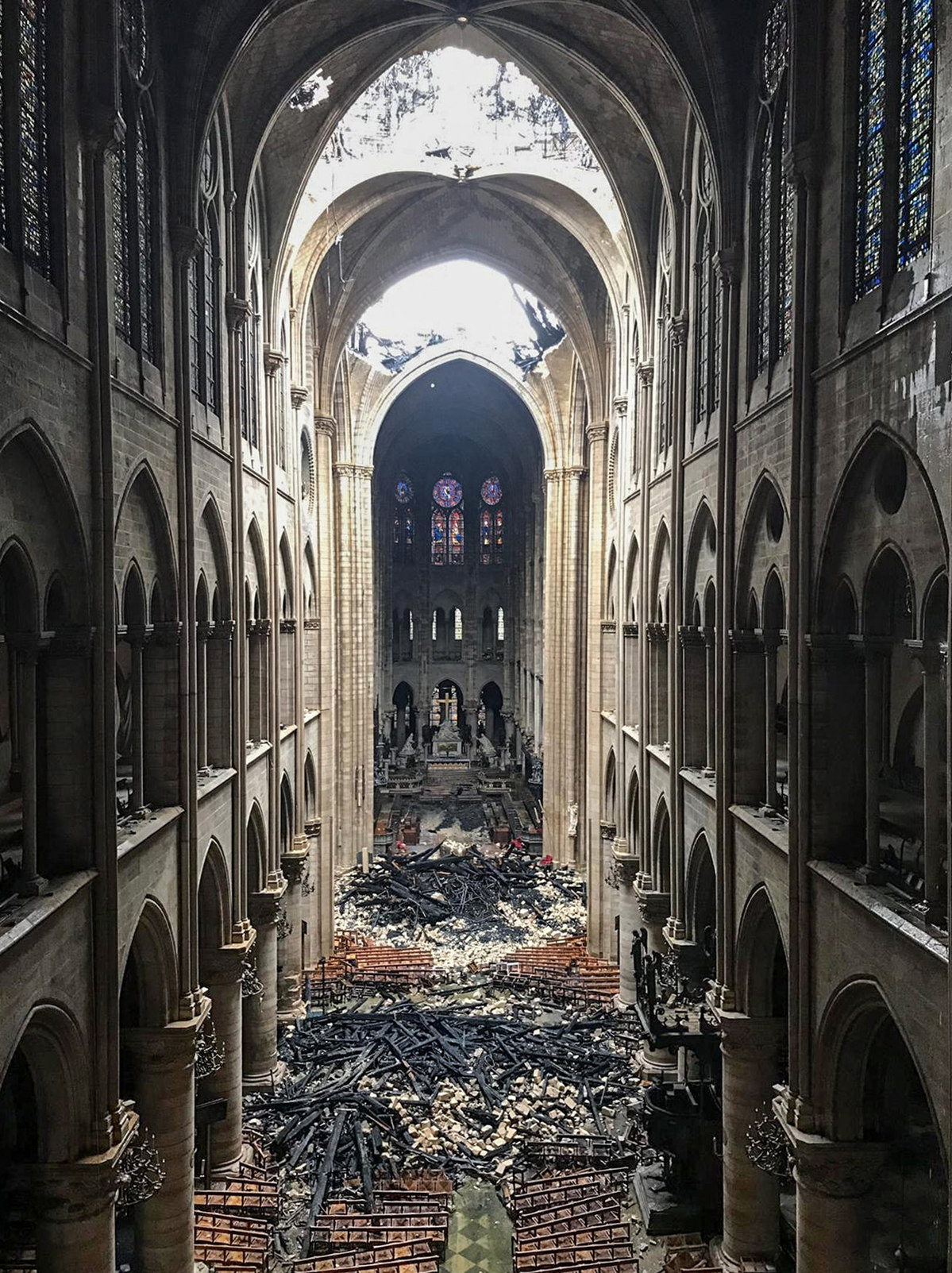 Paris fire sends alarm on relics protection - World