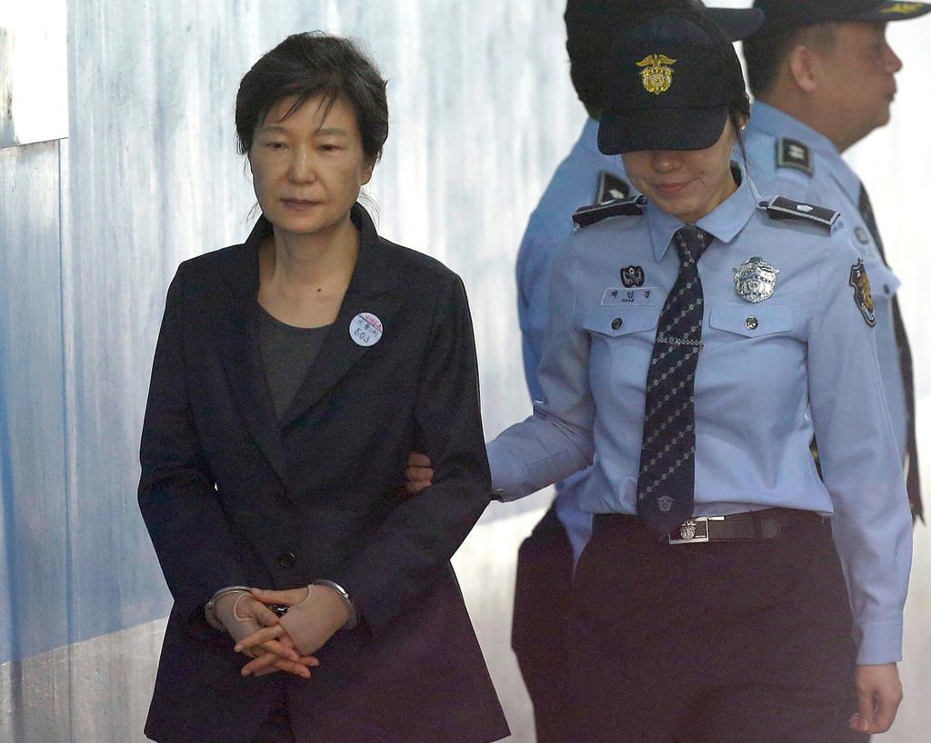 Jailed ex-SKorean president requests temporarily release - World