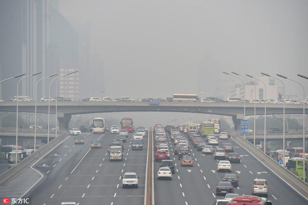 """Résultat de recherche d'images pour """"vehicles, beijing, pollution, 2018, 2019"""""""