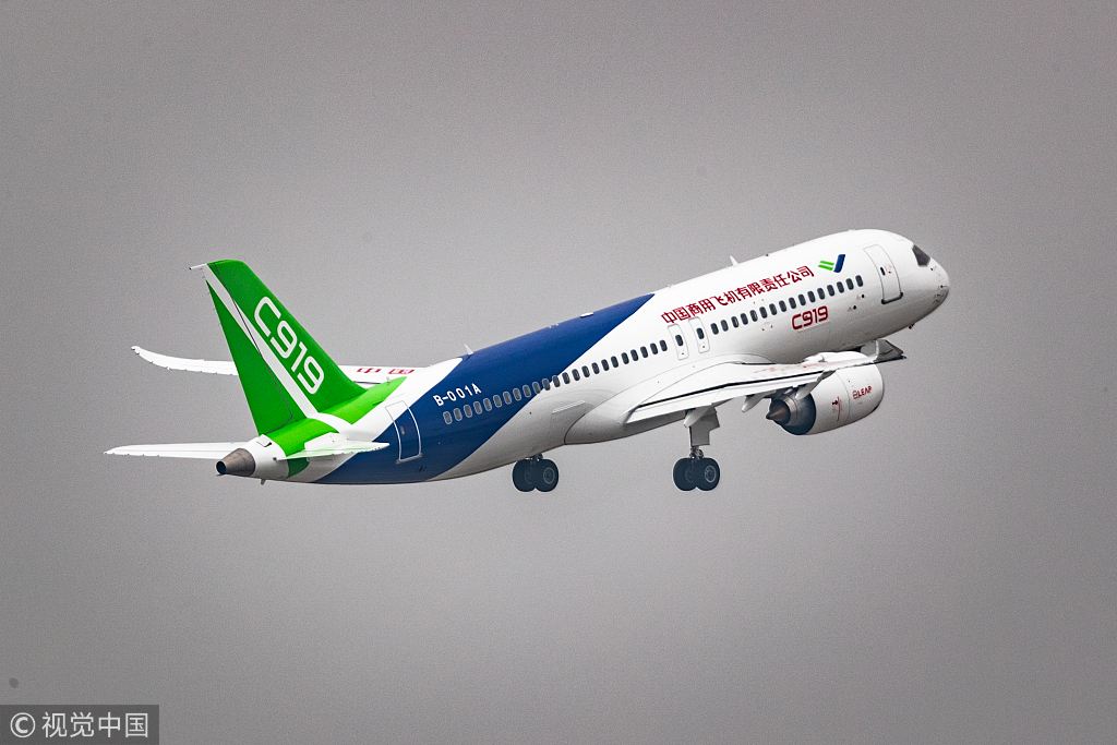 Ethiopian Airlines considers adding China's C919 planes to fleet