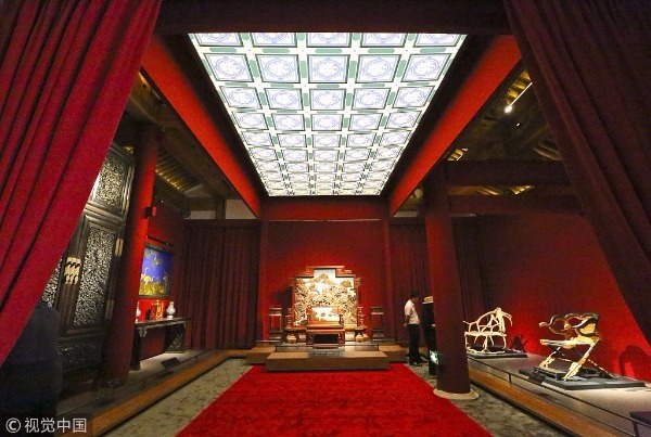 Palace Museum brings virtual tour of Forbidden City hall nationwide